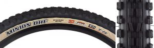 Maxxis, Minion DHF, Tire, 27.5''x2.30, Folding, Tubeless Ready, 3C, EXO, 60TPI, Tanwall